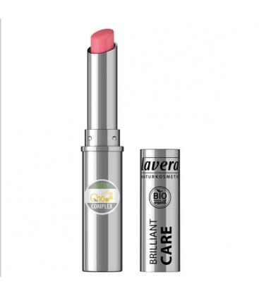 Κραγιον Q10 BrilliantCare Strawberry Pink02 Lavera