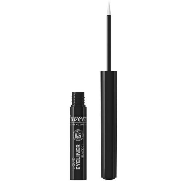 Βιολογικό Eyeliner Μαύρο 01, Bio, Lavera