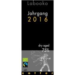 Βιολογική Μαύρη Σοκολάτα 75%, Labooko Dry Aged, 70γρ., Bio, Zotter