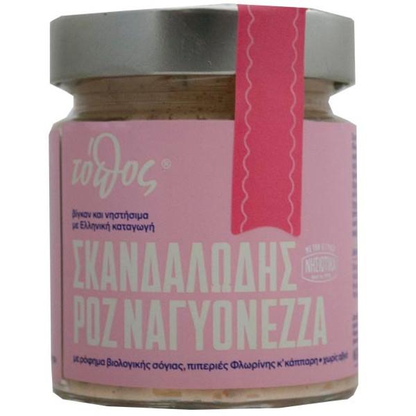 Πικάντικη Νηστίσιμη (Vegan) Μαγιονέζα 180γρ., Ελληνική Τα Νησιώτικα
