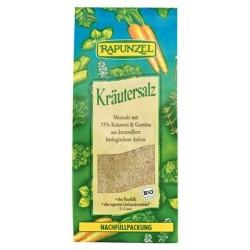 Αλάτι Θαλασσινό με Βιολογικά Βότανα, 500γρ., Rapunzel