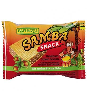 Βιολογική Γκοφρέτα Samba 25γρ., Bio Rapunzel