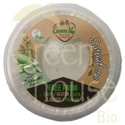 Φυτικό Τυρί Αλοιφώμενο με Γεύση Τζατζίκι 250γρ., Greenvie