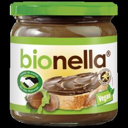 Βιολογική Πραλίνα Φουντουκιού Bionella, Vegan, 400γρ., Βio, Rapunzel