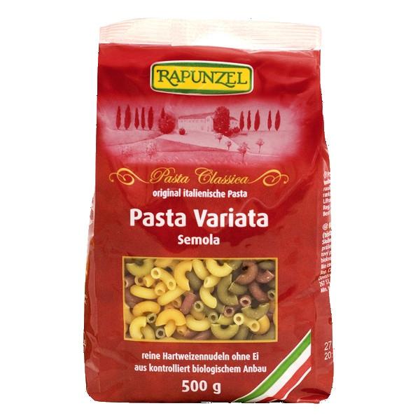 Βιολογικά Ζυμαρικά Pasta Variata 500γρ., Βio, Rapunzel