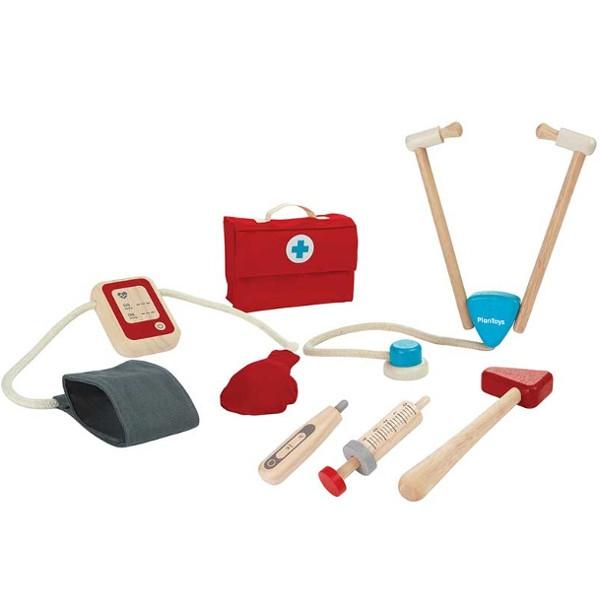 Ιατρικά Εργαλεία, Plantoys, Ξύλινο, Οικολογικό, Εκπαιδευτικό, Παιχνίδι