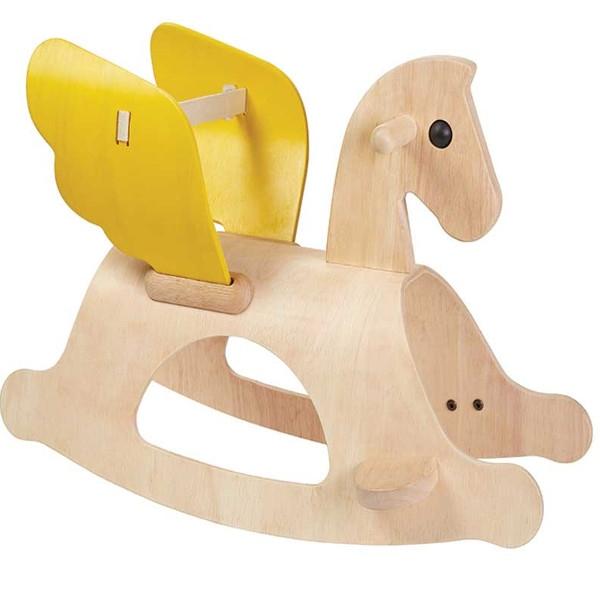 """Αλογάκι """"Πήγασος"""" Plantoys, Ξύλινο, Οικολογικό, Εκπαιδευτικό, Παιχνίδι"""