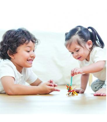 Τραβήξτε τα Ραβδάκια, Plantoys, Ξύλινο, Οικολογικό, Εκπαιδευτικό, Παιχνίδι