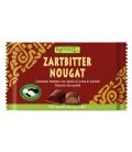 Μαύρη Βιολογική Σοκολάτα Νουγκάτ, 100γρ., Rapunzel