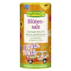 Αλάτι Ορυκτό με Βότανα & Άνθη, σε Αλατιέρα, 90 γρ., Rapunzel