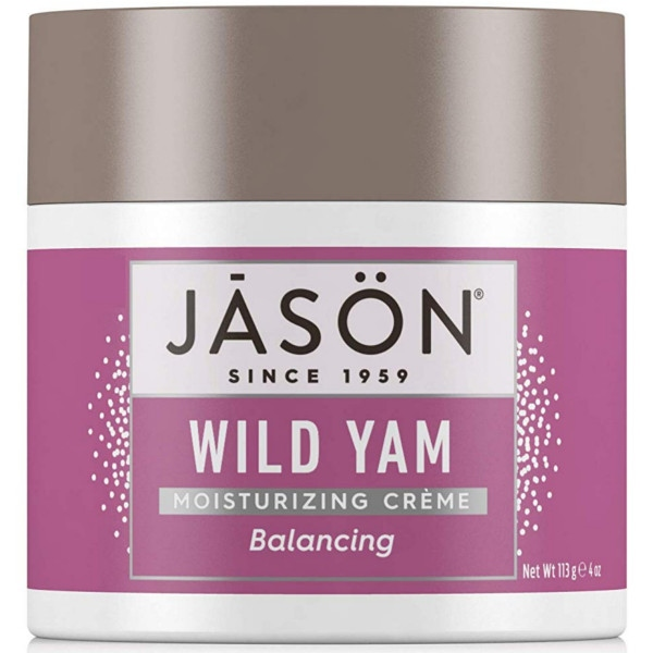 Κρέμα Προσώπου Balancing Wild Yam 120 ml, Jason