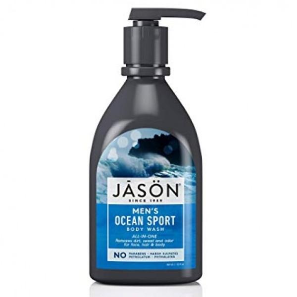 Αντρικό Αφρόλουτρο & Σαμπουάν Ocean Sport, 887ml, Jason