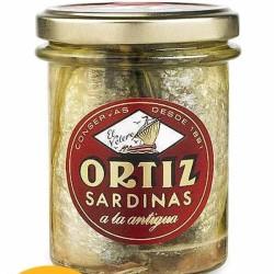 Σαρδέλες Ισπανίας σε Βάζο 190 γρ., Ortiz