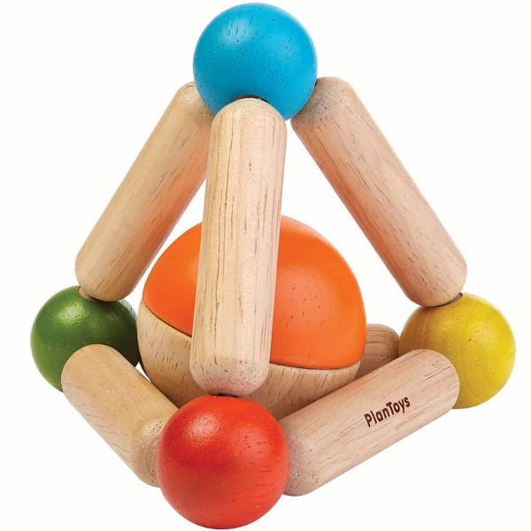 Πυραμίδα με Μπάλα, Plantoys, Ξύλινο, Οικολογικό, Εκπαιδευτικό, Παιχνίδι