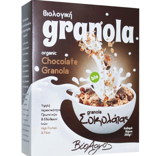Βιολογική Γρανόλα με Σοκολάτα 350 γρ., Bio, Βιοαγρός