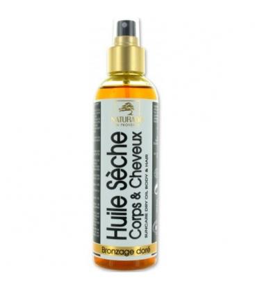 Βιολογικό Eνυδατικό Λάδι για Χρυσαφένιο Μαυρισμα Spray Bio 200ml, Naturado