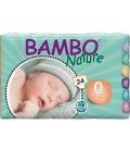 ΠΑΝΕΣ BAMBO NATURE PREMATURE No0 1-3kg 24τεμ(6)