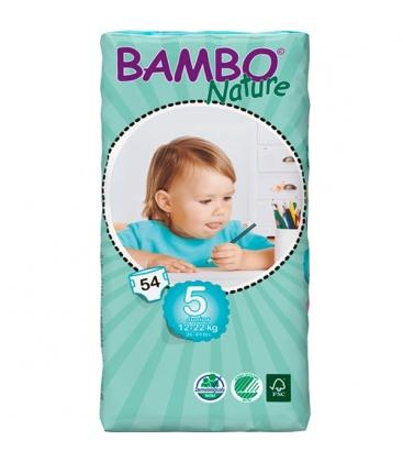 ΠΑΝΕΣ BAMBO NATURE TALL JUNIOR 12-22kg 54τεμ