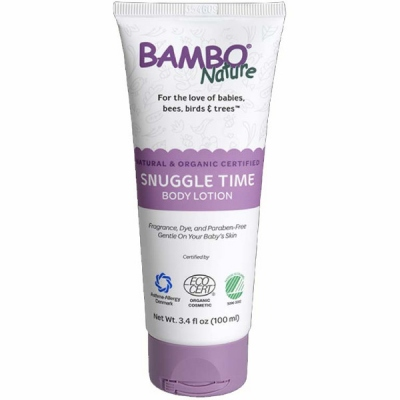 BAMBO NATURE SNUGGLE TIME BODY LOTION 100ml(6)