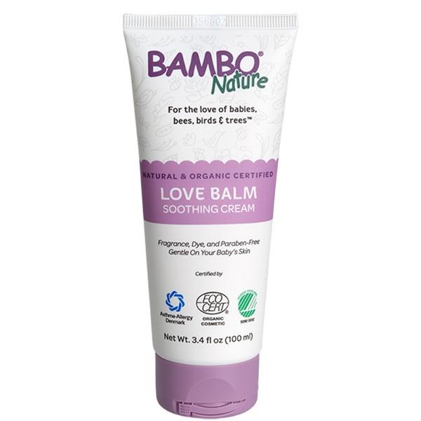Βιολογική Κρέμα για την Αλλαγή της Πάνας Love Balm, 100ml, Bambo Nature