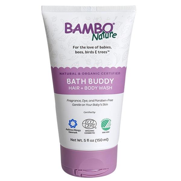 Βιολογικό Παιδικό Αφροντούζ & Σαμπουάν Bath Buddy Hair & Body Wash, 150ml, Bambo Nature