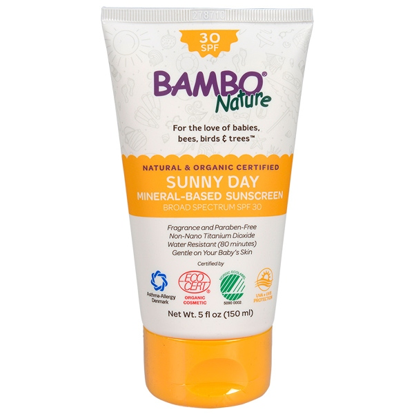 BAMBO NATURE SUNNY DAY MINERAL SPF30 150ml(6)