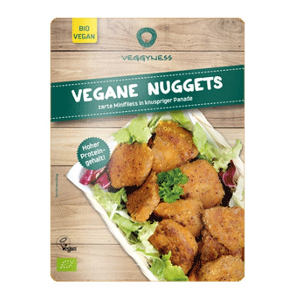Βιολογικές Χορτοφαγικές Μπουκιές Nuggets, 175 γρ., Bio, Veggyness