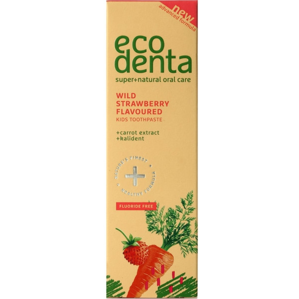 Οδοντόκρεμα για Παιδιά, 75ml, Bio, Ecodenta