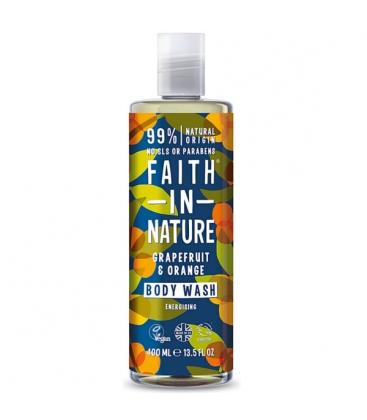 Αφρόλουτρο με Γκρέιπφρουτ & Πορτοκάλι 400ml Faith in Nature