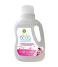 Βιολογικό Απορρυπαντικό Πλυντηρίου Ρούχων για Μωρά, Πασχαλιά & Καριτέ 1.5lt, Ecos - Earth Friendly