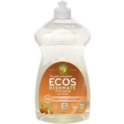 Βιολογικό Υγρό Πιάτων με Bio Αμύγδαλο 739ml, Ελληνικό, Ecos - Earth Friendly