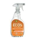 Βιολογικό Υγρό Γενικού Καθαρισμού Πορτοκάλι 650ml, Ecos - Earth Friendly