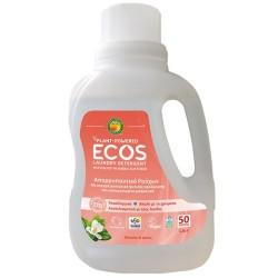 Βιολογικό Υγρό Πλυντηρίου Ρούχων Μανόλια & Κρίνο 1.5lt, Ελληνικό, Ecos - Earth Friendly