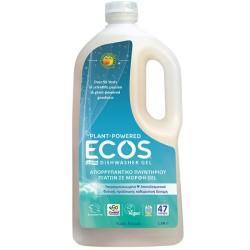 Βιολογικό Υγρό Τζελ Πλυντηρίου Πιάτων Χωρίς Άρωμα 1.18lt, Ecos - Earth Friendly