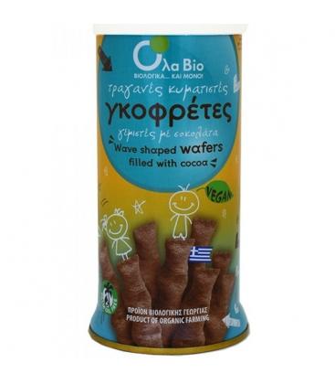 Βιολογικά Πουράκια Σοκολάτας, Vegan, 140 γρ., Όλα Bio
