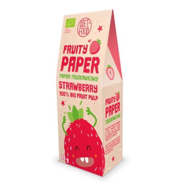 Βιολογικό Fruity Paper με Φράουλα, 25 γρ., Bio, Diet Food