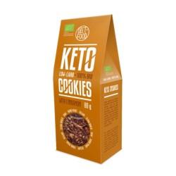 Βιολογικά Μπισκότα Keto με Κανέλα, 80 γρ., Bio, Diet Food