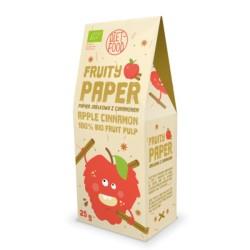 Βιολογικό Fruity Paper με Μήλο & Κανέλα, 25 γρ., Bio, Diet Food