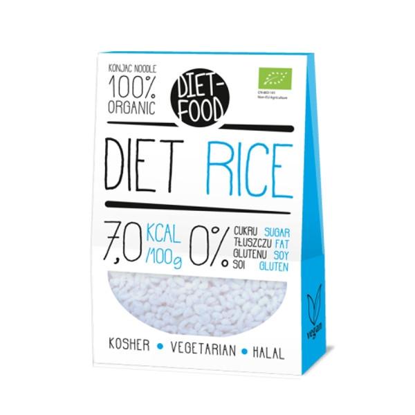 Βιολογικό Ρύζι από Konjac, 385 γρ., Bio, Diet Food