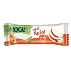 Βιολογική Μπάρα με Μήλο Χωρίς Ζάχαρη Bio 25γρ., Mogli