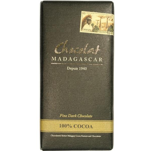 ΣΟΚΟΛΑΤΑ ΜΑΥΡΗ 100% MADAGASCAR BIO 65GR