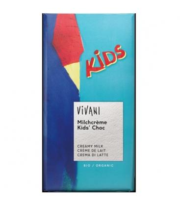 Βιολογική Σοκολάτα Παιδική Bio 100γρ., Vivani