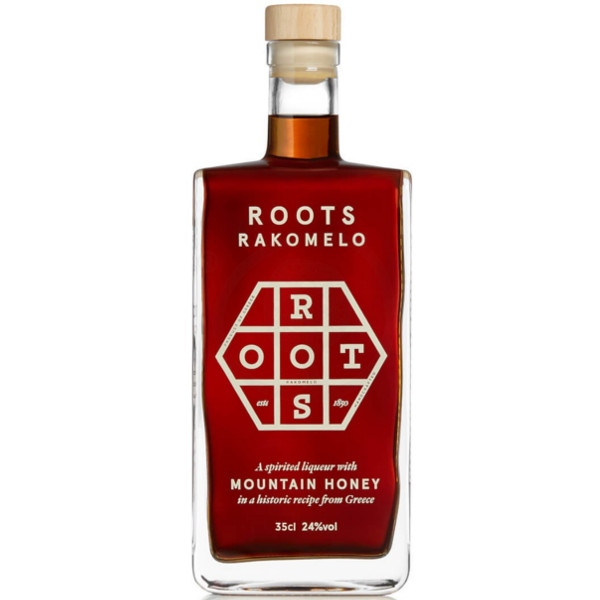 Ρακόμελο, 24% Vol., 350ml, Finest Roots