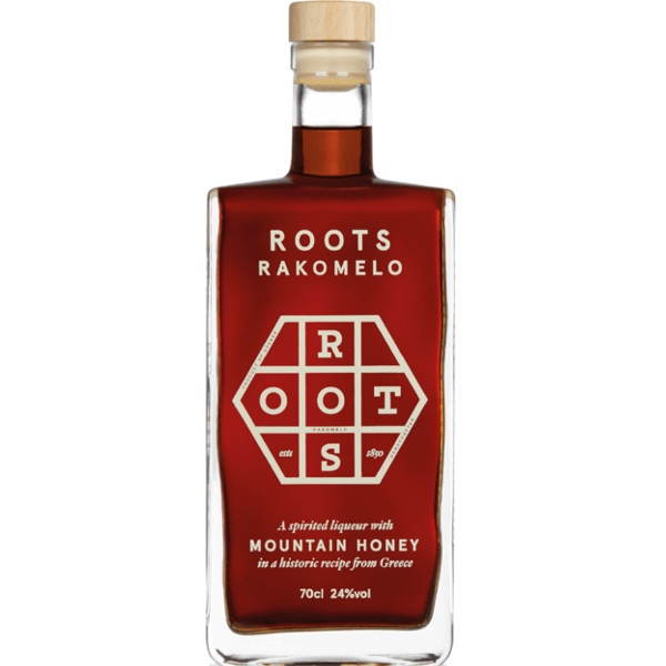 Ρακόμελο, 24% Vol, 700ml, Finest Roots