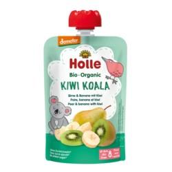 Βιολογικός Πουρές Mπανάνα Αχλάδι & Ακτινίδιο Bio 100γρ., Holle