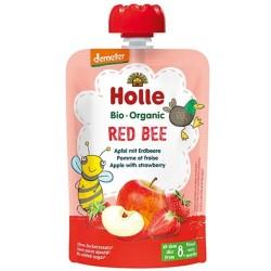 Παιδικός Πουρές Μήλο - Φράουλα 90γρ ΒΙΟ Holle