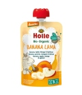 Βιολογικός Πουρές Mπανάνα Μάνγκο Βερύκοκο & Μήλο Bio 90γρ., Holle