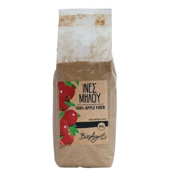 Βιολογικές Ίνες Μήλου 100%, 400 γρ., Bio, Βιοαγρός