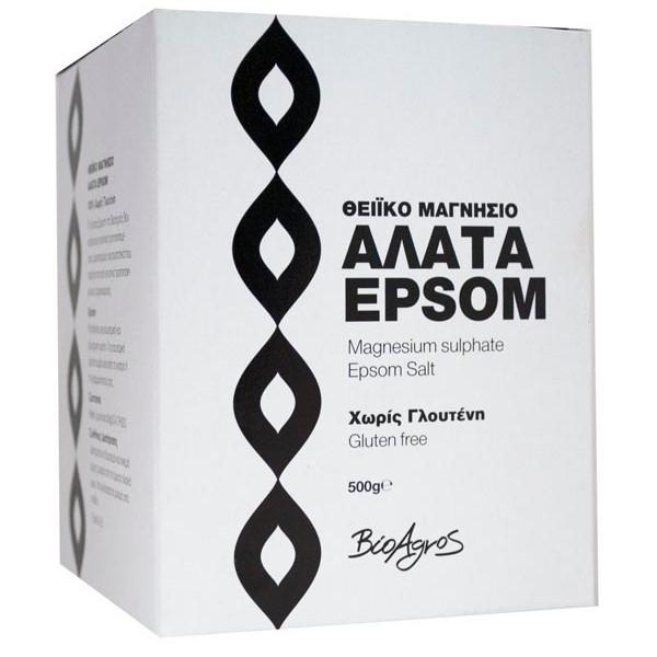 Άλατα Epsom Χωρίς Γλουτένη 500γρ., Βιοαγρός
