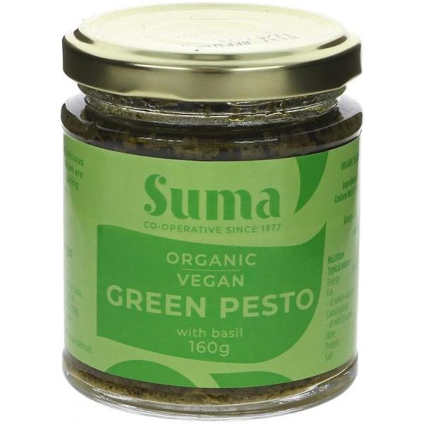 Βιολογικό Πέστο Πράσινο Vegan Bio 160γρ., Suma Wholesale
